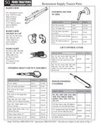 601 ford tractor parts in Ford Tractor Parts by