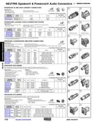 powercon wiring diagram 1992 ford f 150 audio jack connectors in interconnects 2011 by mouser electronics