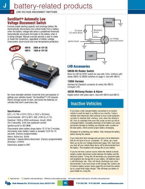 small resolution of powermaster battery isolator wiring diagram wiring library d 275 master battery related products by cole hersee