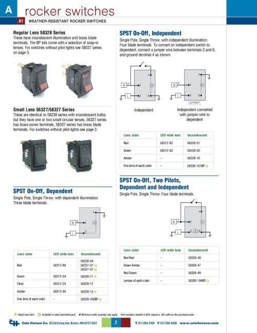 small resolution of cole hersee rocker switch wiring diagram