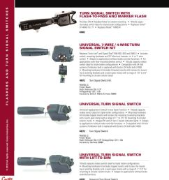 page 5 of flashers and turn signal switches 2012 3 prong flasher wiring diagram 48072 turn signal switch wiring diagram [ 900 x 1151 Pixel ]