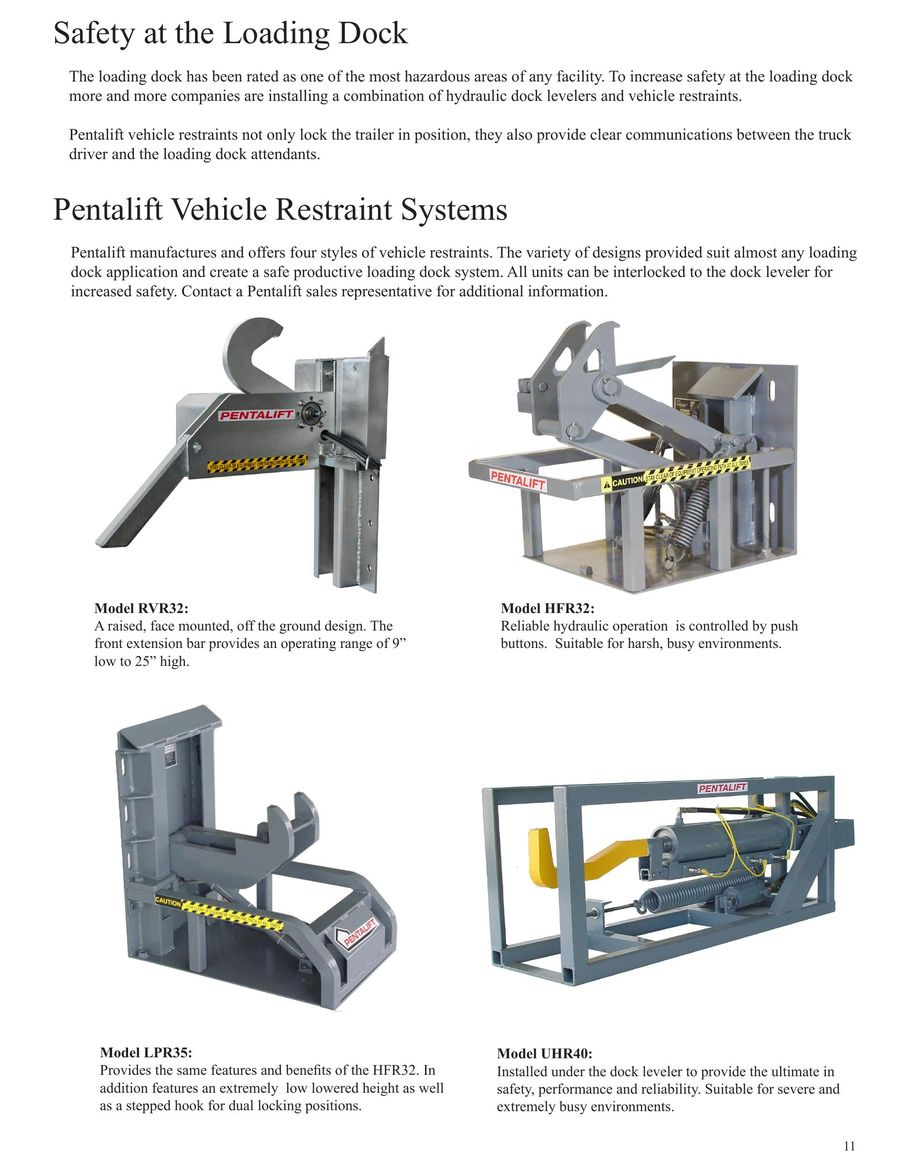 hight resolution of page 8 of hydraulic loading dock levelers 2016pentalift dock plate wiring diagram 12