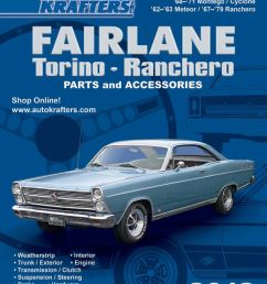 ford fairlane torino ranchero parts accessories 2012 part 1 by auto krafters inc  [ 900 x 1165 Pixel ]