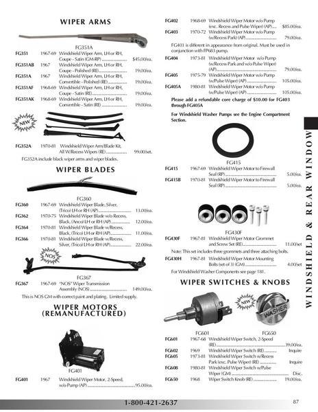 Page 87 of 2010 Pontiac Firebird/Trans Am Parts & Accessories