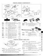 brake cable pontiac in 2010 Pontiac Firebird/Trans Am