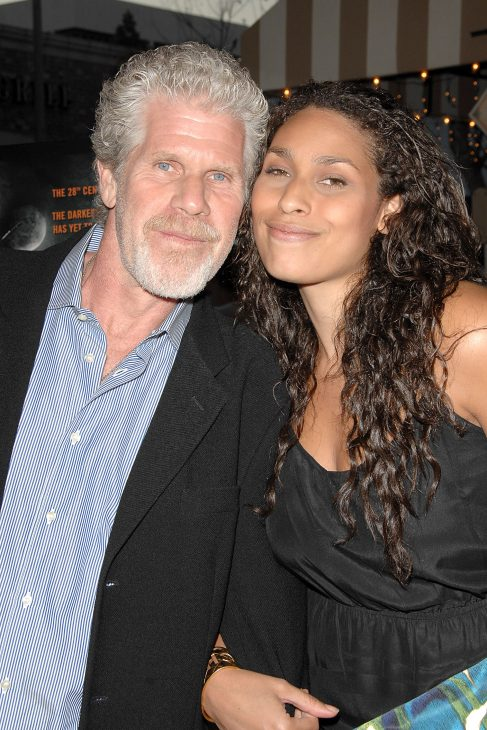 His Ron Perlman Wife And