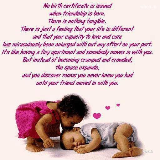 Great Quote Wallpaper For Mobile Happy Friendship Day Greetings Hd Wallpapers Of Small Babies