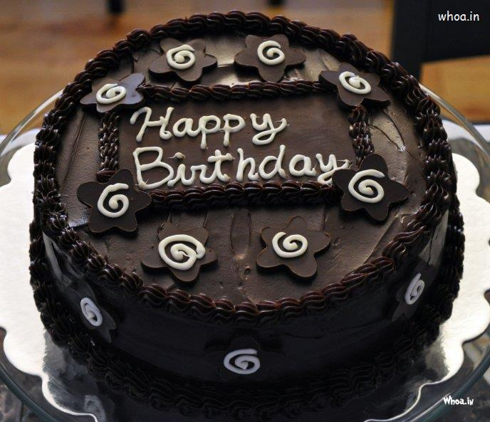 Happy Birthday Chocolate Cack Wallpaper