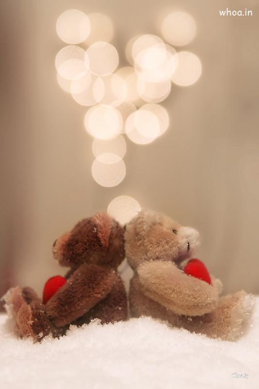 Cute Small Girl Wallpapers For Facebook Love Of Couple Teddy Image