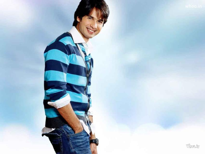 Good Morning Cute Baby Hd Wallpaper Shahid Kapoor Blue Hd Wallpaper