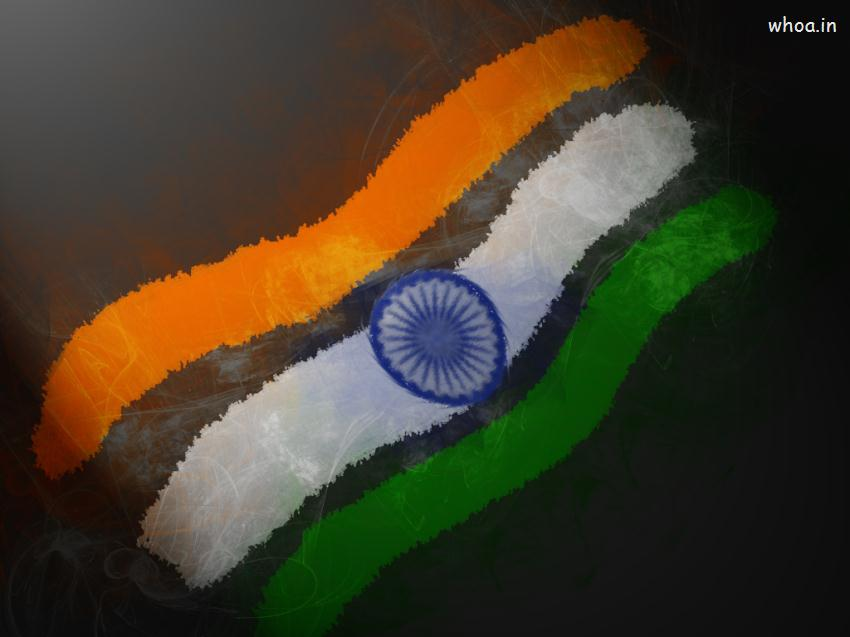 Indian Tiranga 3d Wallpaper India Flag Art Hd Wallpaper For Desktop