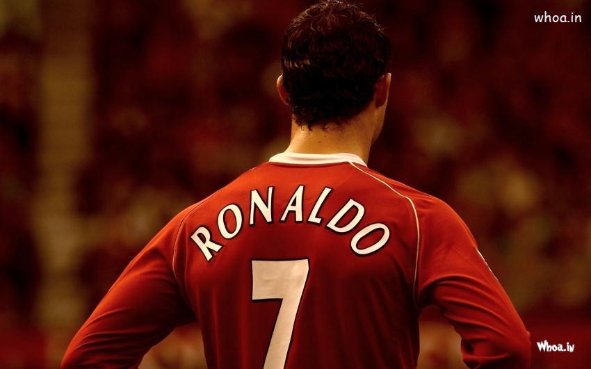 Hd Wallpapers Joker Quotes Cristiano Ronaldo Back View Wallpaper