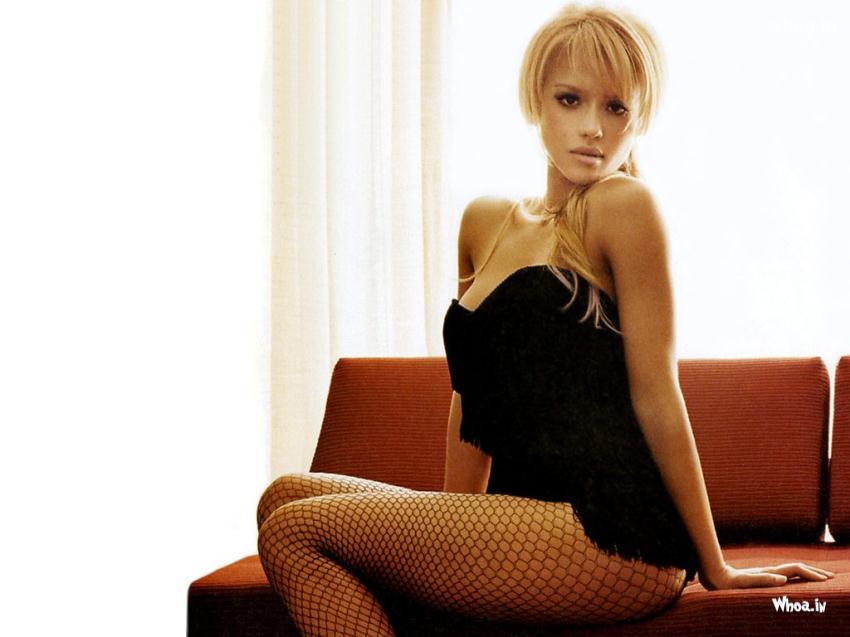 Jessica Alba In A Lingerie