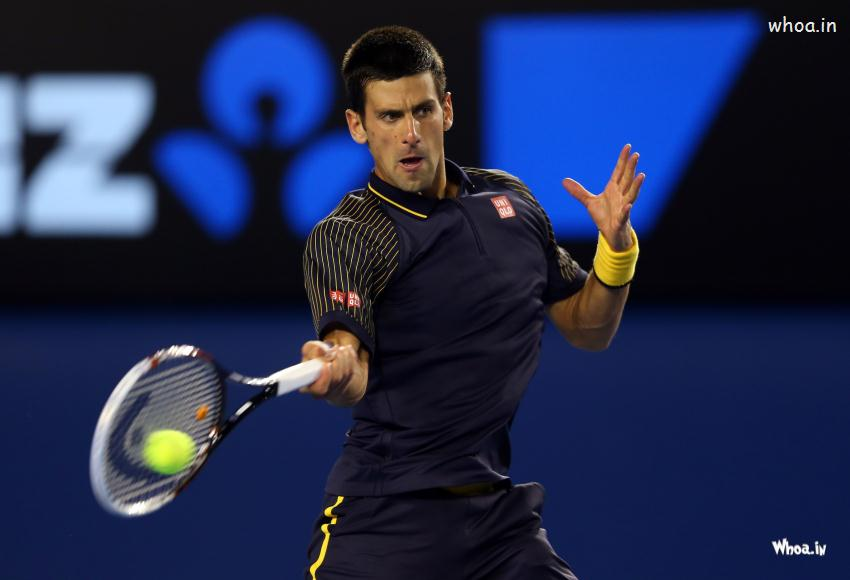 Funny Good Night Quotes Wallpaper Novak Djokovic Slow Motion Forehand