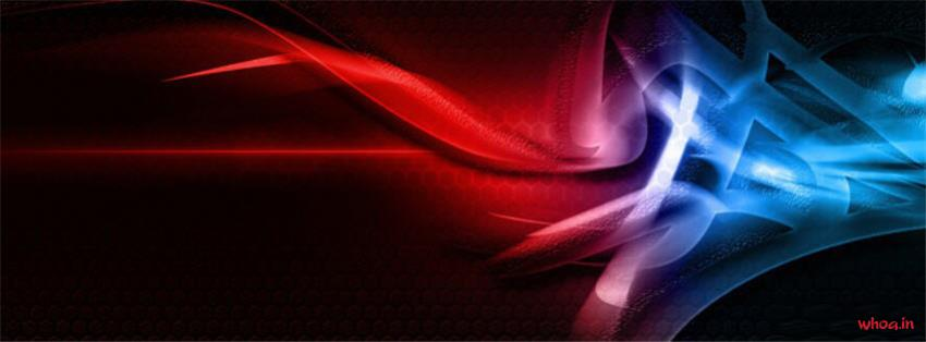 Cute Cartoon Birthday Wallpaper Red And Blue Abstract Fb Cover