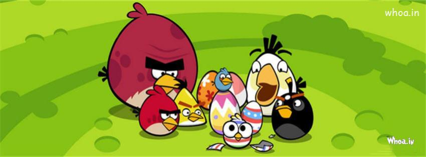 Cute Cartoon Bird Wallpapers Angry Birds Easter Eggs Fb Cover