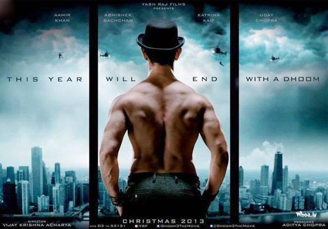 Dhoom 3 Action Movie Poster1