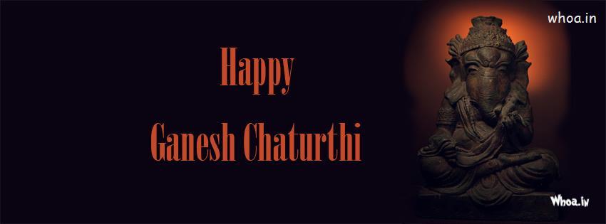 3d Hd Ganesh Wallpaper Happy Ganesh Chaturthi Dark Hd Fb Cover