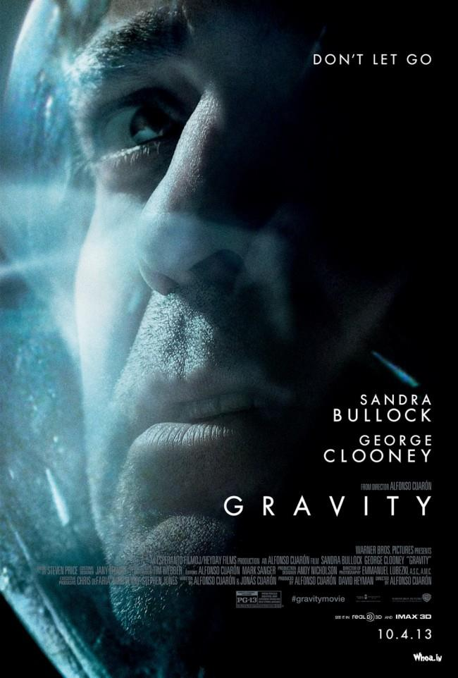 Hollywood Gravity Movie Poster1