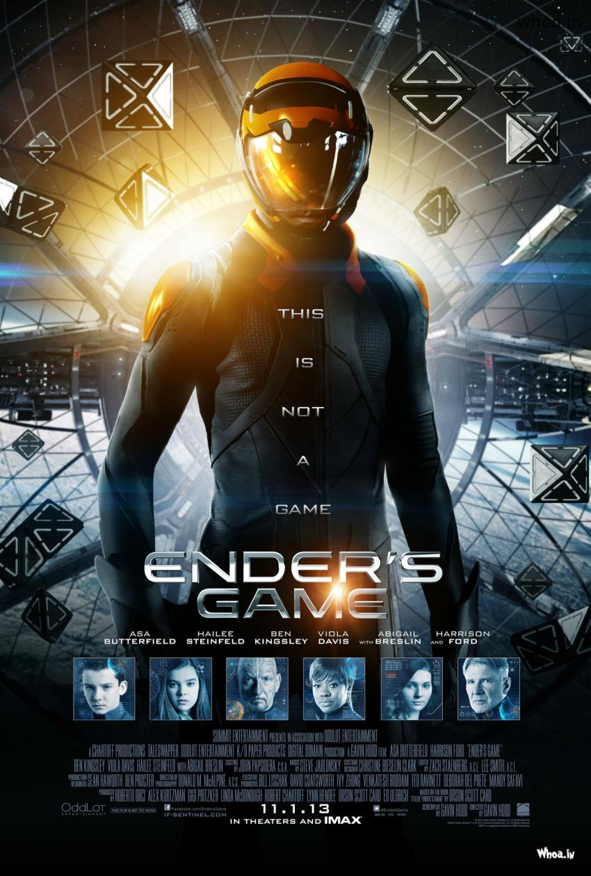 Cinema Wallpapers With Quotes Hollywood Movie Ender S Game Movie Poster