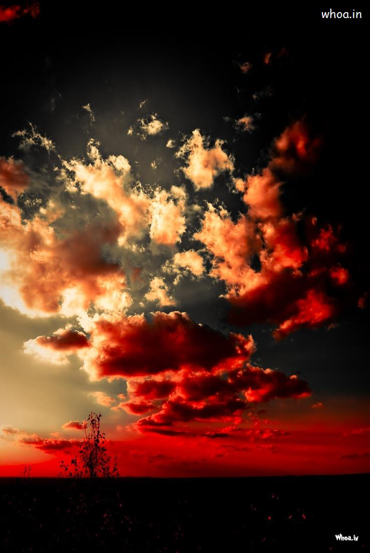 Cute Wallpaper For Facebook Timeline Cover Red Cloud Wallpaper For Mobile