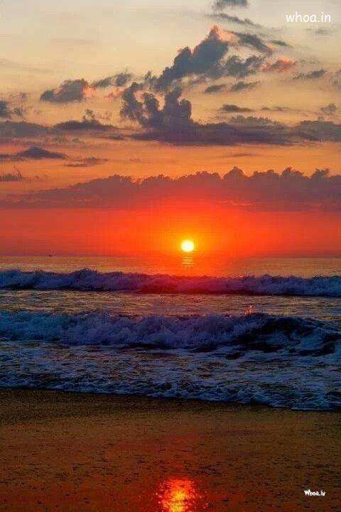 Joker Wallpaper Hd Download Sun Rise On Sea Shore Natural Hd Wallpaper