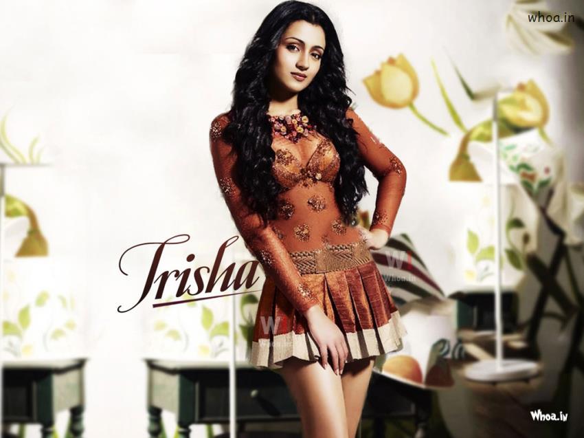 Indian Flag Hd 3d Wallpaper Trisha Krishnan In Maxim Hd Wallpaper