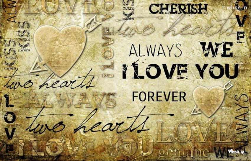 Always We I Love You Quotes Hd Wallpaper