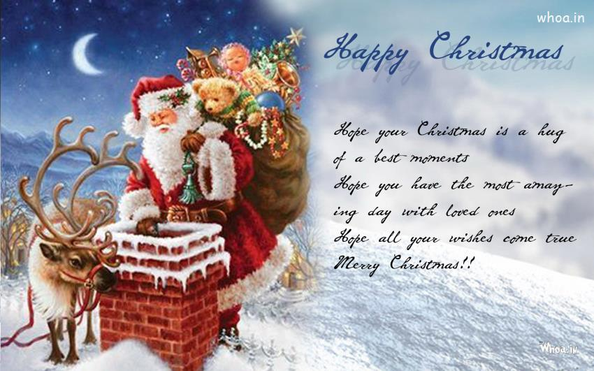 Cute Wallpapers Quotes Friendship Happy Christmas Hd Wallpaper Free For Desktop