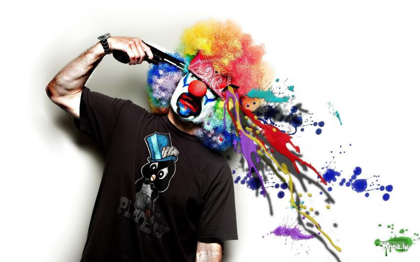 Joker Funny Cilorful Hd Wallpaper