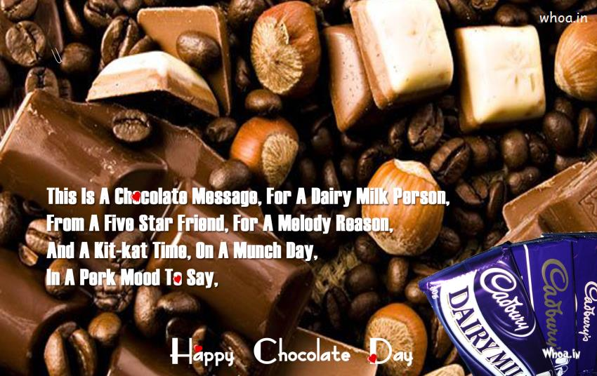 Good Night Wallpaper With Quotes For Fb Happy Chocolate Day Celebrated With Different Chocolate Nut