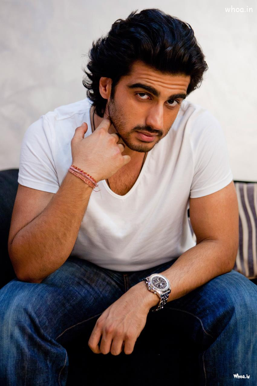 Image result for arjun kapoor white shirt