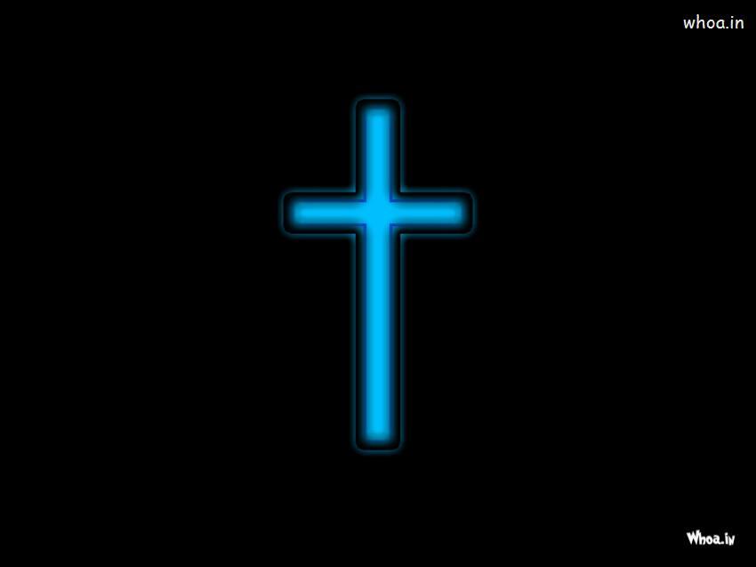Cute Baby Jesus Wallpaper Christian Cross In Black Background