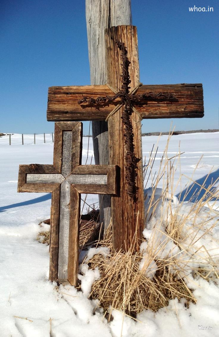 3d Snow Wallpaper For Android Christian Cross In Snow