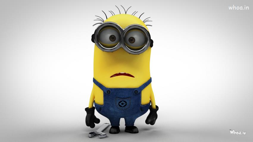 Cute Minions Quote Wallpapers Despicable Me 2 Minions Funny Face Hd Wallpaper