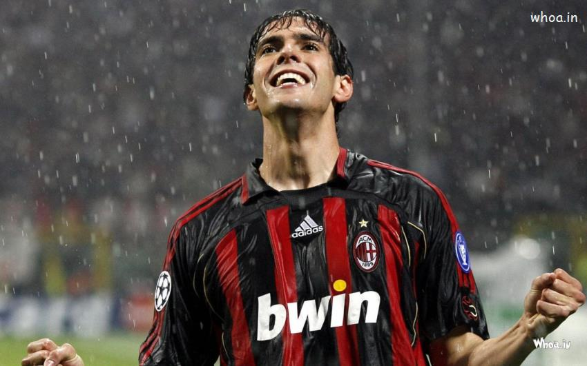 Cute Baby With Rain Wallpapers Kaka Football Player In Rain