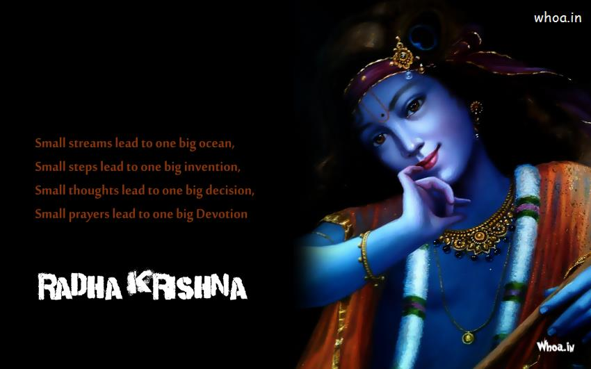 Temple Quotes Wallpaper Pc Hd Krishna Wallpapers With Quote