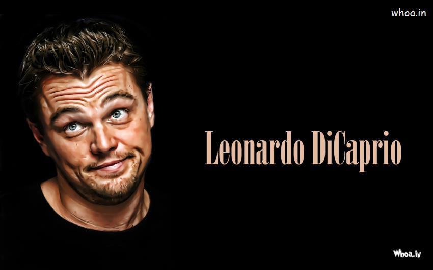 Leonardo Dicaprio Making Funny Faces