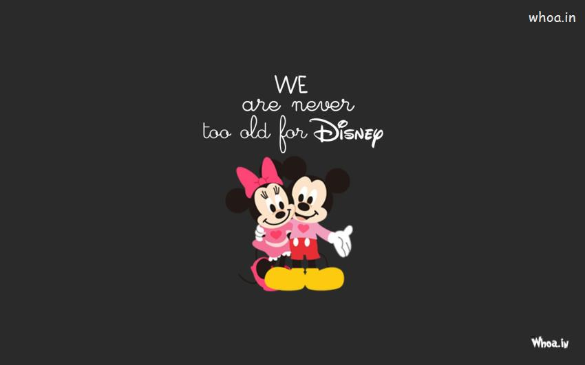 Shivaji Wallpaper 3d Mickey And Minnie Mouse With Dark Background Hd Wallpaper