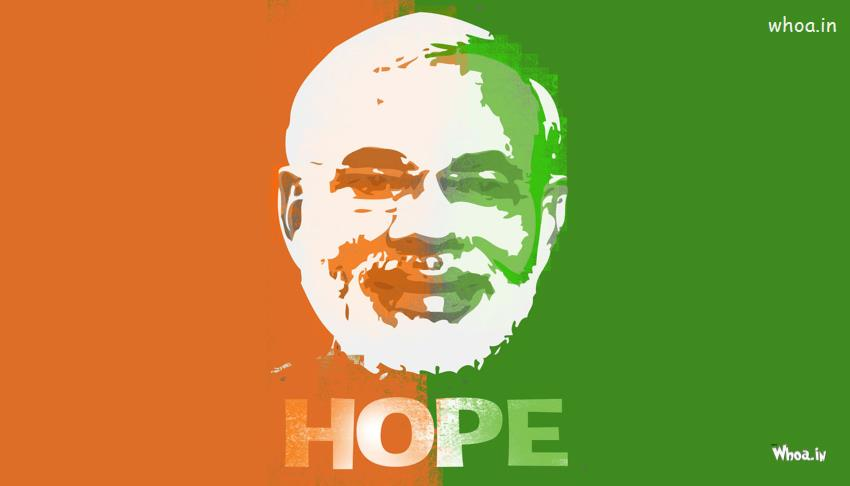 Lord Shiv Hd Wallpaper Narendra Modi Hope Tricolor Paper Painting Hd Wallpaper