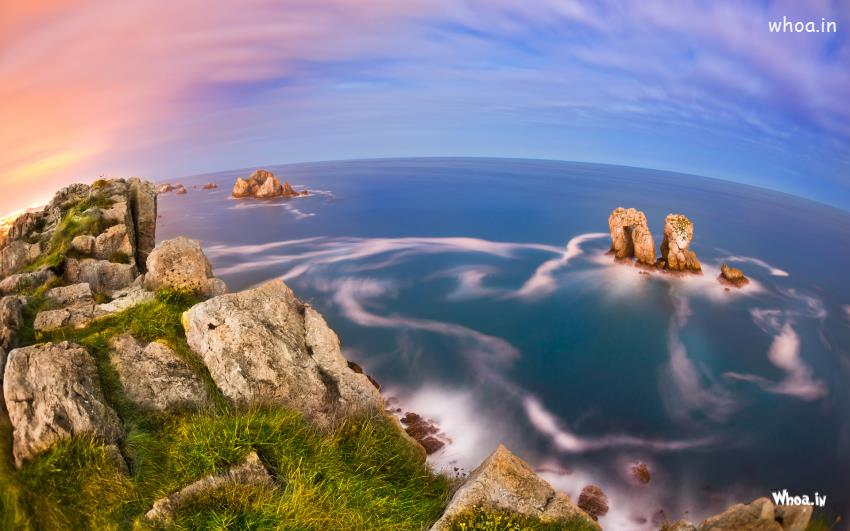 Balaji Images Hd Wallpaper Natural Sea View With Mountain Hd Photoshoot Desktop Wallpaper