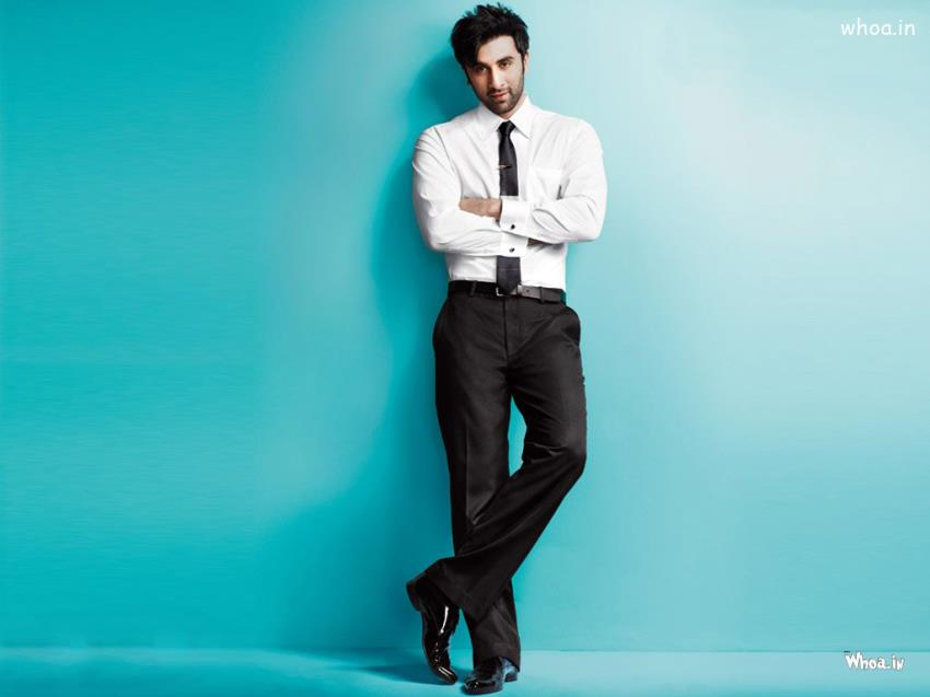 Funny Good Night Quotes Wallpaper Ranbir Kapoor New Professional Look With Blue Background