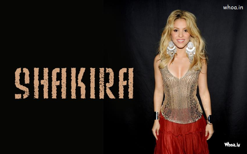 Cute Happy Teachers Day Wallpaper Sexy Shakira In A Transparent Dress