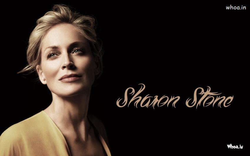 Cute Cartoon Birthday Wallpaper Sharon Stone Face Close Up Wallpaper Hd