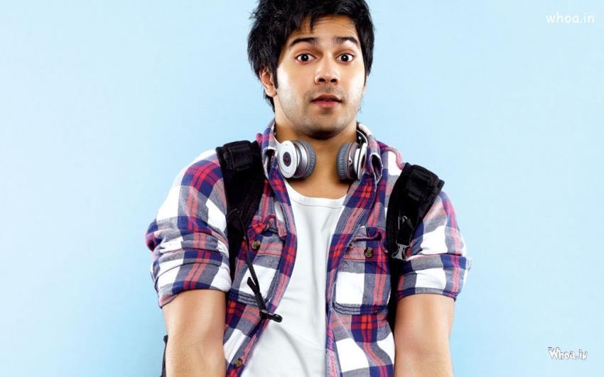 Funny Cute Babies Hd Wallpapers Varun Dhavan Looking College Boy Photoshoot Hd Image