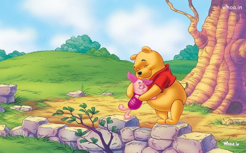 Shiva Animated Wallpaper Hd Winnie The Pooh Hug To Piglet Animated Wallpaper