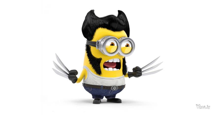 Kajal Agarwal Cute Wallpapers Free Download Wolverine Style Minions With White Background Hd Wallpaper