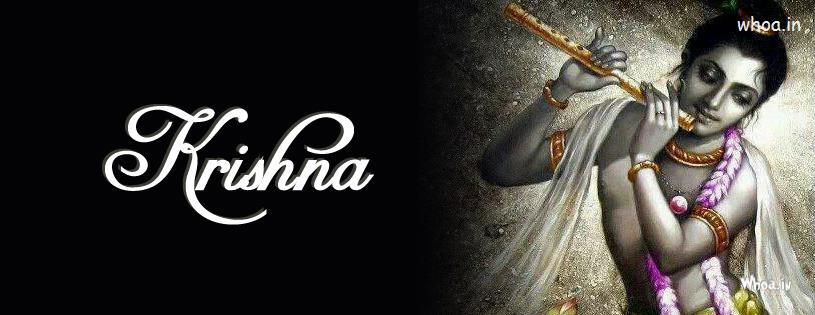 Shivaji Wallpaper 3d Krishna Playing Flute Facebook Cover