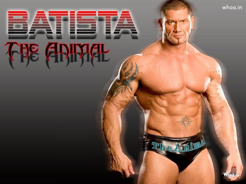Janmashtami Quotes Wallpapers Batista The Animal Shirtless Hd Wwe Wallpaper