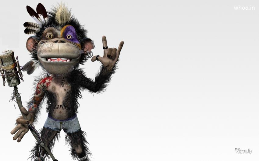 crazy monkey singer hd
